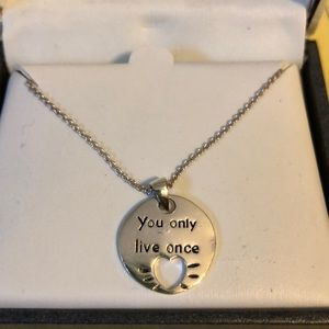 Jewelry - Silver plated necklace